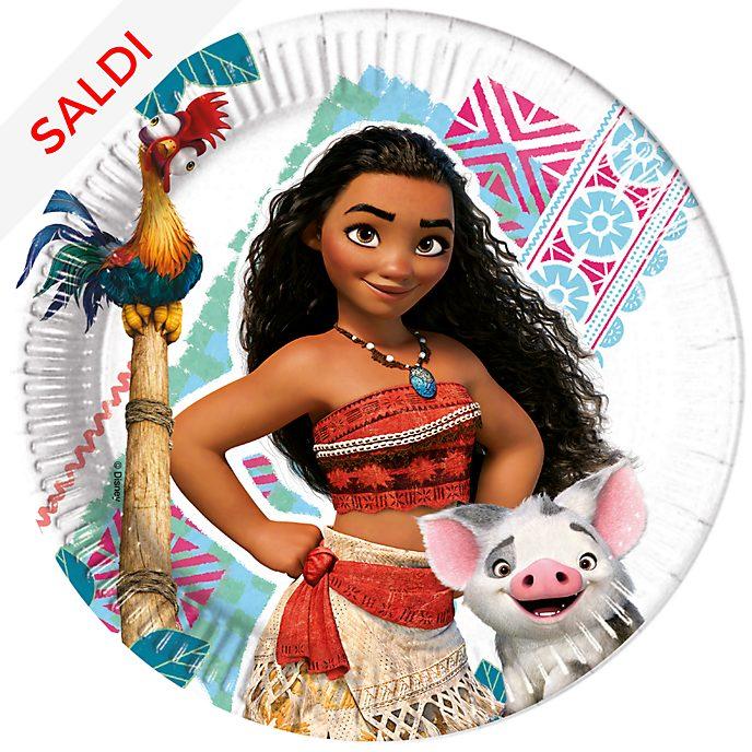 Disney Store Oceania, 8 piatti di carta