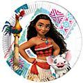 Disney Store Ensemble de 8 assiettes de fête Vaiana