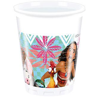 Disney Store Oceania, 8 bicchieri di plastica