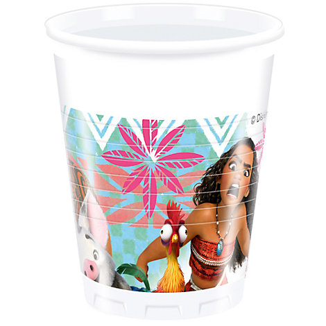 Moana 8x Party Cups