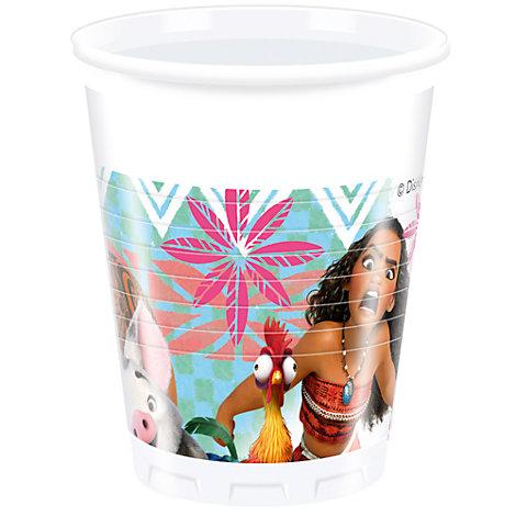 Oceania, 8 bicchieri di plastica