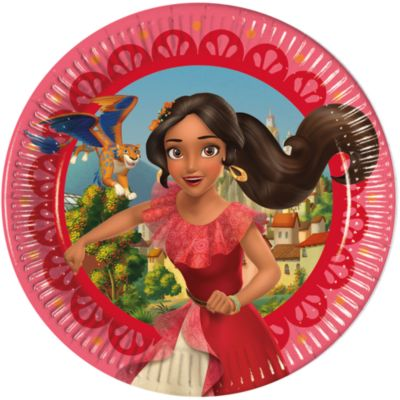 Elena di Avalor, 8 piatti di carta