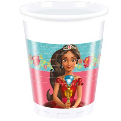 Elena di Avalor, 8 bicchieri di plastica