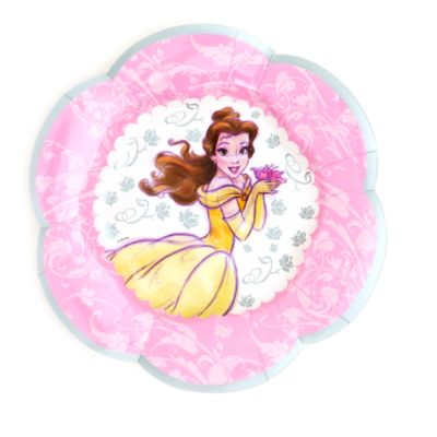 Disney Princess 8x Party Plate Set