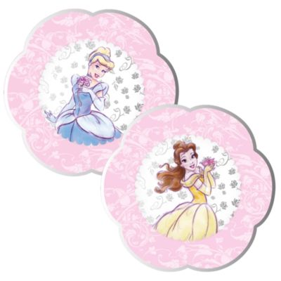Platos fiesta princesa Disney (8 u.)