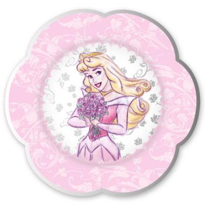 Ensemble de 8 petites assiettes Princesses Disney
