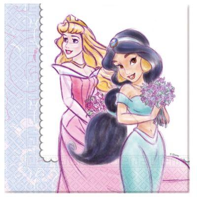 Lot de 20serviettes de fête Princesses Disney