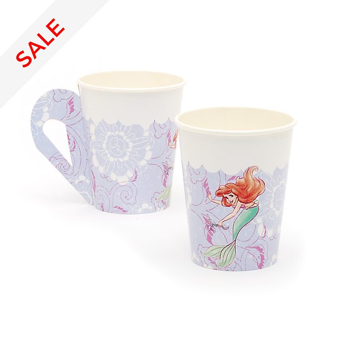 Disney Store Disney Princess 8x Party Cups with Handles