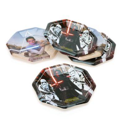 Star Wars: Il Risveglio della Forza, 8 piatti di carta