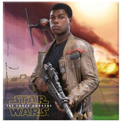 Servilletas fiesta Star Wars VII: El despertar de la Fuerza (20 u)