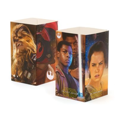 Star Wars: The Force Awakens 4x Popcorn Bucket Pack