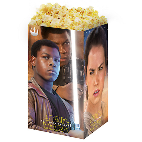 Star Wars: The Force Awakens 4x popcornbægre