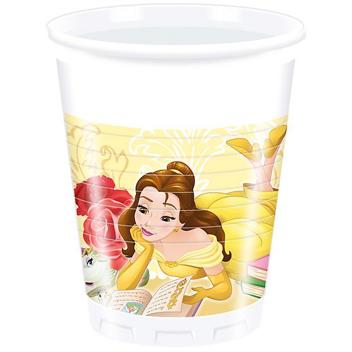 Disney Store 8 gobelets de fête La Belle et La Bête
