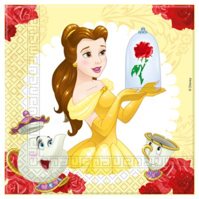 Beauty And The Beast 20x Party Napkin Pack