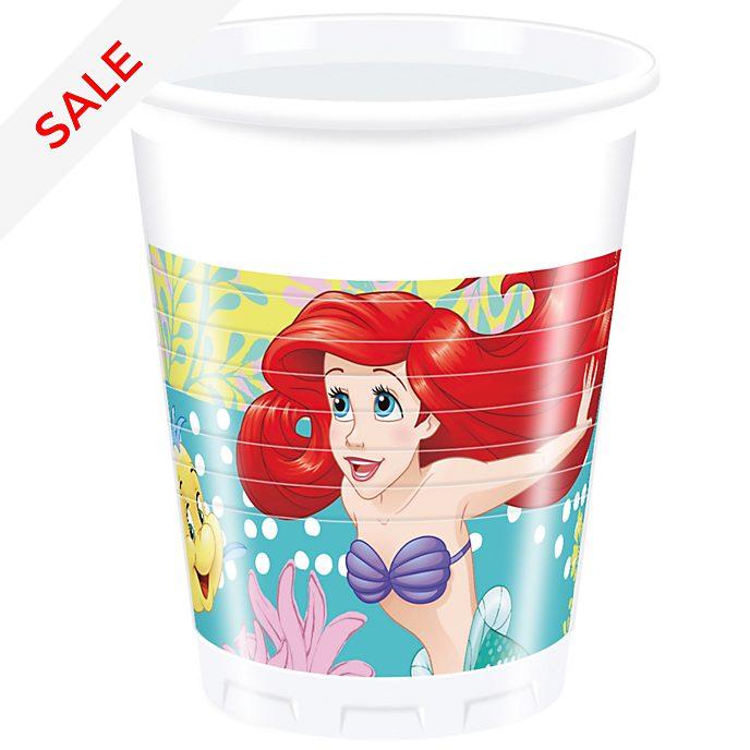 Disney Store – Arielle, die Meerjungfrau – 8 x Partybecher