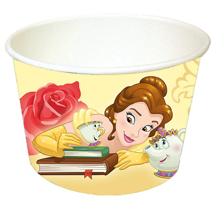 Disney Store Beauty and the Beast 8x Treat Tubs
