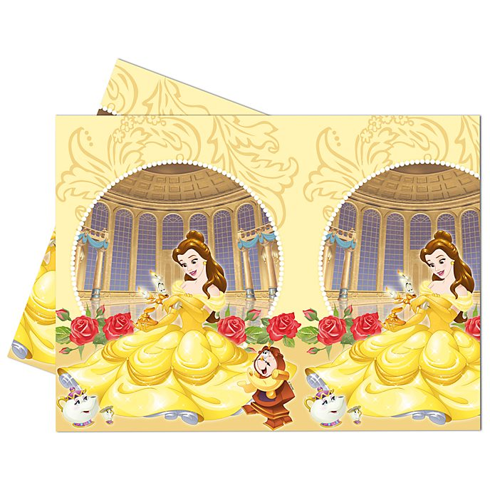 Walt Disney World Beauty and the Beast Table Cover