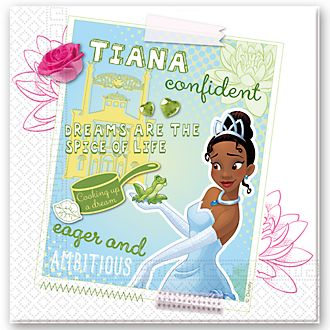 Disney Store Tiana 20x Party Napkin Pack, The Princess and the Frog
