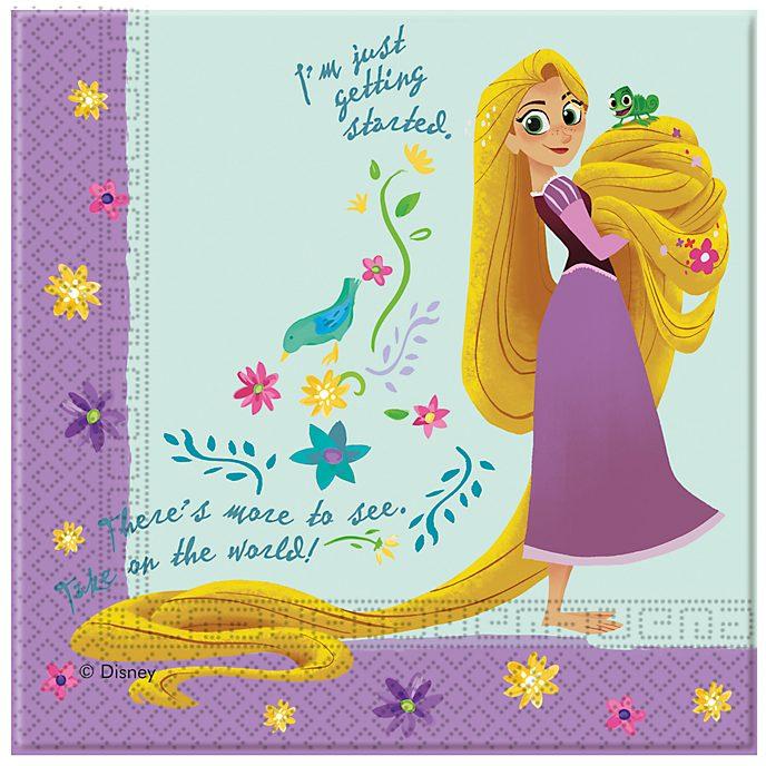 Disney Store Paquet de 20 serviettes de fête Raiponce Raiponce : La Série