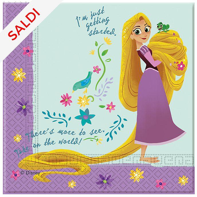 Disney Store Rapunzel, 20 tovaglioli di carta Rapunzel: la serie