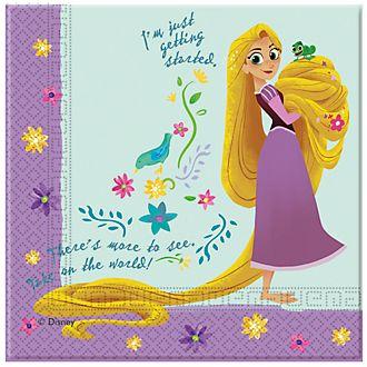 Disney Store – Rapunzel – Neu verföhnt, die Serie – Rapunzel, 20 x Partyservietten