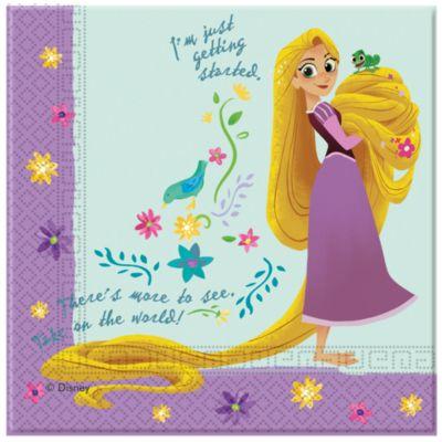 Rapunzel, 20 tovaglioli di carta Rapunzel: la serie