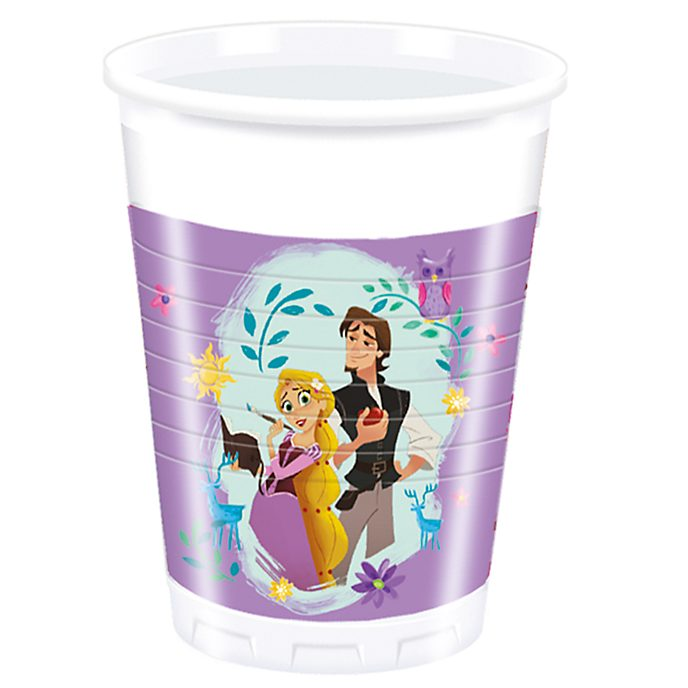 Set vasos fiesta Rapunzel, Enredados: la serie (8 u.), Disney Store