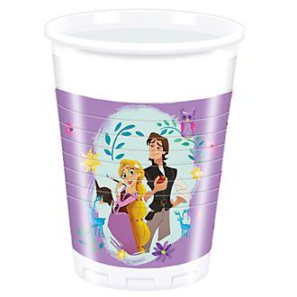 Disney Store Ensemble de 8 gobeletsde fête Raiponce : La Série