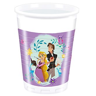 Disney Store Rapunzel 8x Party Cups, Tangled: The Series