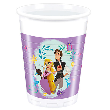 Set vasos fiesta Rapunzel, Enredados: la serie (8 u.)