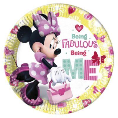 Lot de 8assiettes de fête Minnie Mouse