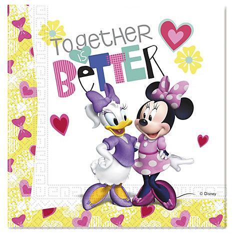 Minnie Mouse festservietter, pakke med 20 stk.