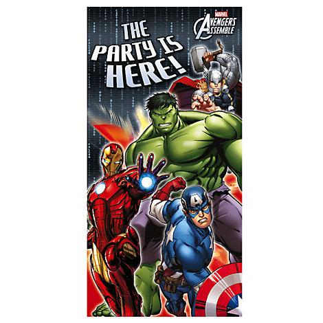 Avengers Door Banner