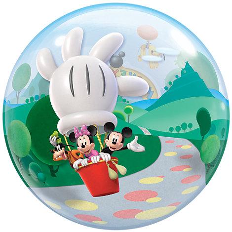 Micky Maus - Ballon in Seifenblasenoptik