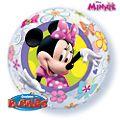 Minnie Maus - Ballon in Seifenblasenoptik