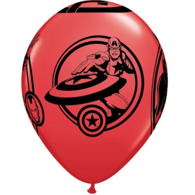The Avengers - 6 x Luftballons