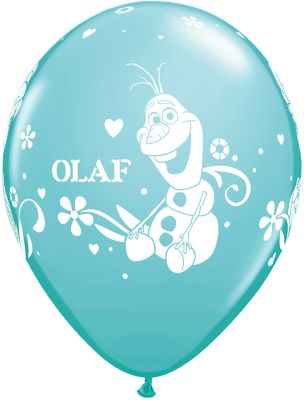 Frozen - Il Regno di Ghiaccio, 6 palloncini