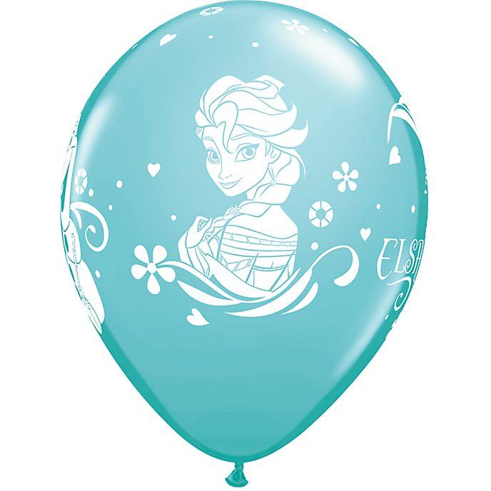 6 ballons La Reine des Neiges