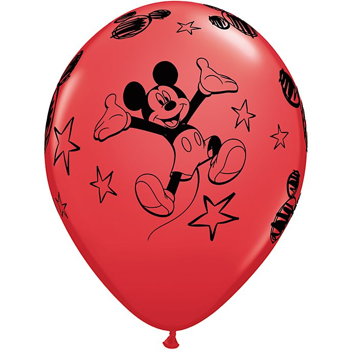 Lot de 6 ballons Mickey Mouse