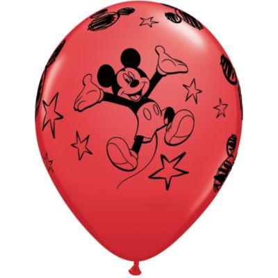 Lot de 6 ballons Mickey Mouse