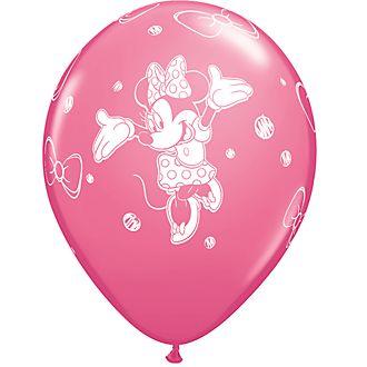 Lot de 6 ballons Minnie Mouse