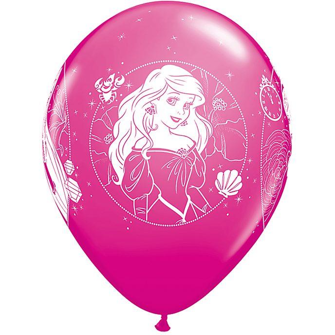 Lot de 6 ballons Princesses Disney