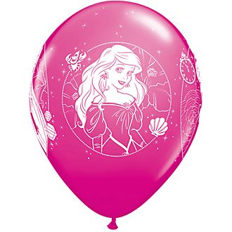 Lot de 6 ballons Princesses Disney