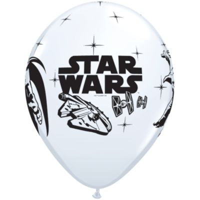 Globos de Star Wars (6 u.)