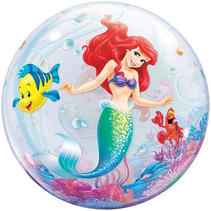 Arielle, die Meerjungfrau - Ballon in Seifenblasenoptik