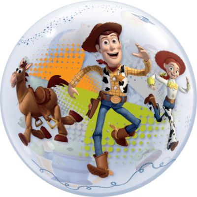 Toy Story - Ballon in Seifenblasenoptik
