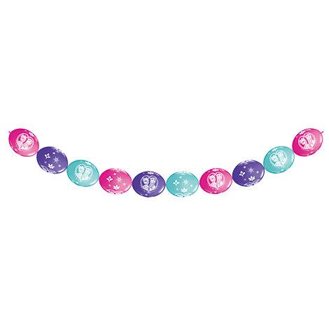 Die Eiskönigin - völlig unverfroren - Partybanner mit Ballons