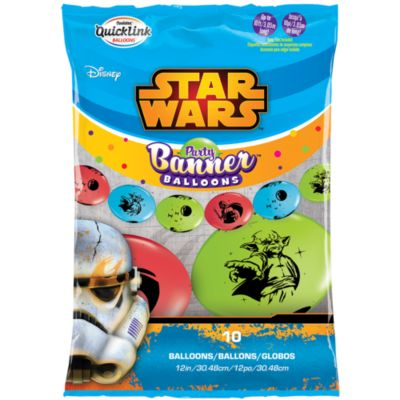 Star Wars Party Balloon Banner