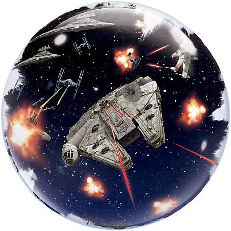 Star Wars: Das Erwachen der Macht - Ballon mit Doppelblase