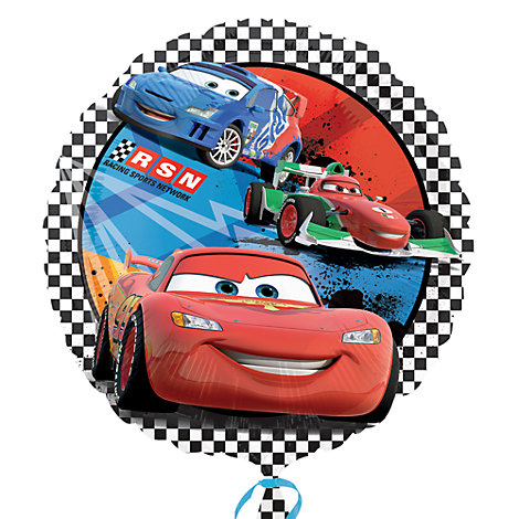 Globo brillante Disney Pixar Cars